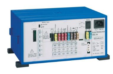 Schaudt EBL 211 - Wohnmobil Ladegerät/Elektroblock
