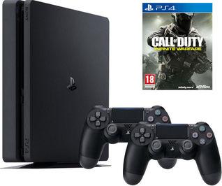(CH) Digitec verkauft die Sony Playstation 4 Slim 1TB + 2x Controller + CoD IW für 235,- Euro