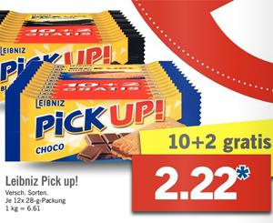[Lidl ab 20.02] Leibniz Pick up! 10+2 gratis für 2,22€