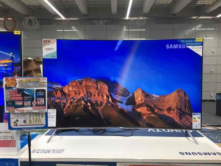 [Lokal Technoland Deizisau] Samsung UE55KS7590 + Handy geschenkt