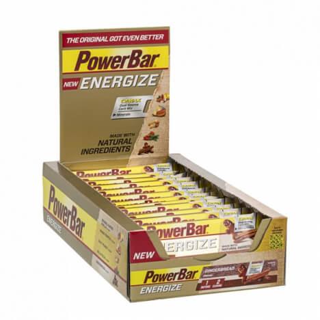 25x Energieriegel PowerBar Energize für 15,99€ (statt 35€) bei vitafy
