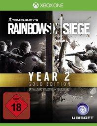 Tom Clancy's Rainbow Six Siege: Year 2 Gold Edition (Xbox One & PS4) für 34,85€ inkl. VSK (NetGames)