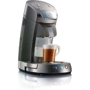 Philips HD 7852/50 Senseo Latte Select Kaffeepadmaschine titan-silber