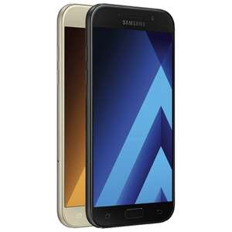 """Samsung Galaxy A5 (2017) gold oder schwarz für 332,91€ @ Rakuten - 5,2"""" Smartphone mit 32GB"""