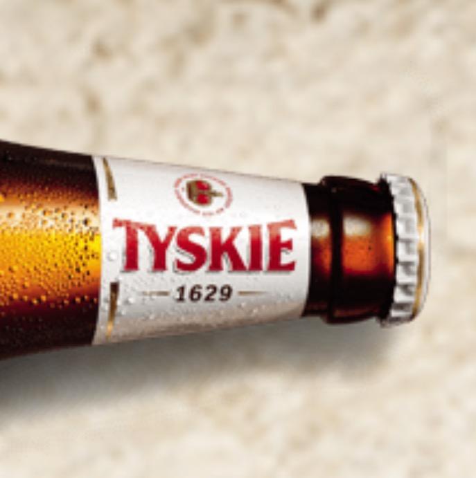 [Kaufland Landshut] TYSKIE Bier piwo 20 x 0,5 l