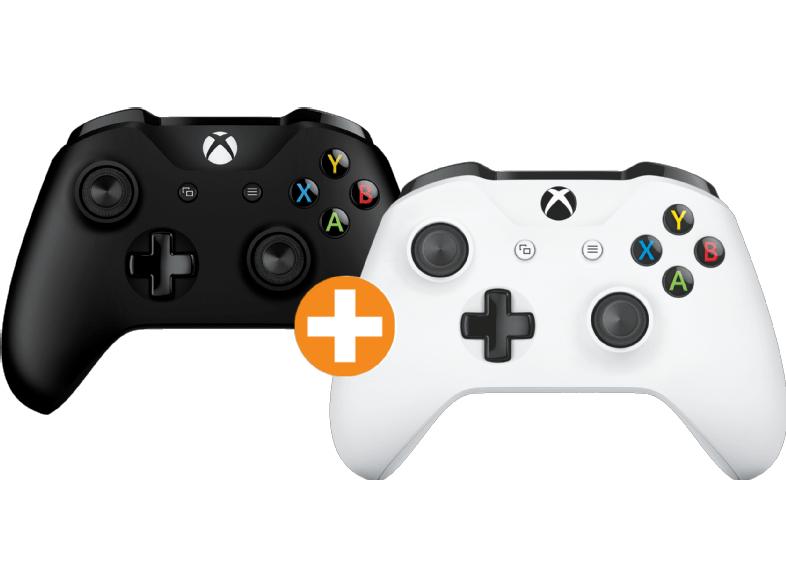 [Saturn Österreich] MICROSOFT Xbox One S Wireless Controller New Schwarz + Weiß für zusammen 71,-€ inc Versand nach Deutschland