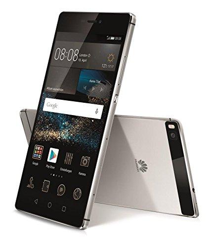 "Huawei P8 Titanium Grey 16GB 5,2"" FHD Display, Android 6.0, Octa-Core 2.0GHz, 3GB Ram, microSD  (Nur Kreditkarte) [amazon.es]"