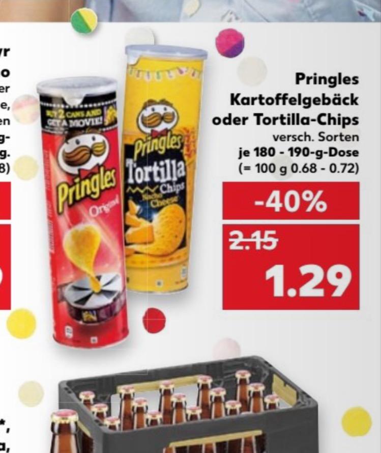 Kaufland bundesweit - Pringles