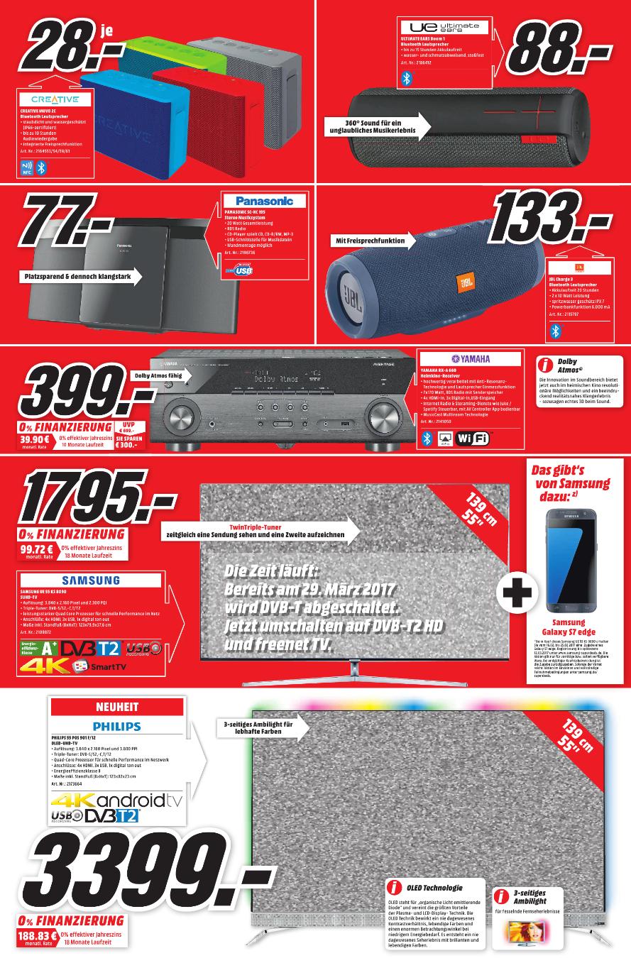 [Lokal Media Markt Berlin + Umgebung] Yamaha RX-A 660 7.2 AV-Receiver für 399 Euro (Idealo 699 Euro)