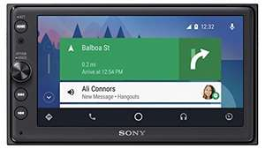 "[Amazon.fr] Sony XAV-AX100 mit 6,4"" Display, Doppel-Din Media Receiver mit Bluetooth, CarPlay und Android Auto Navigation, Spotify, etc."