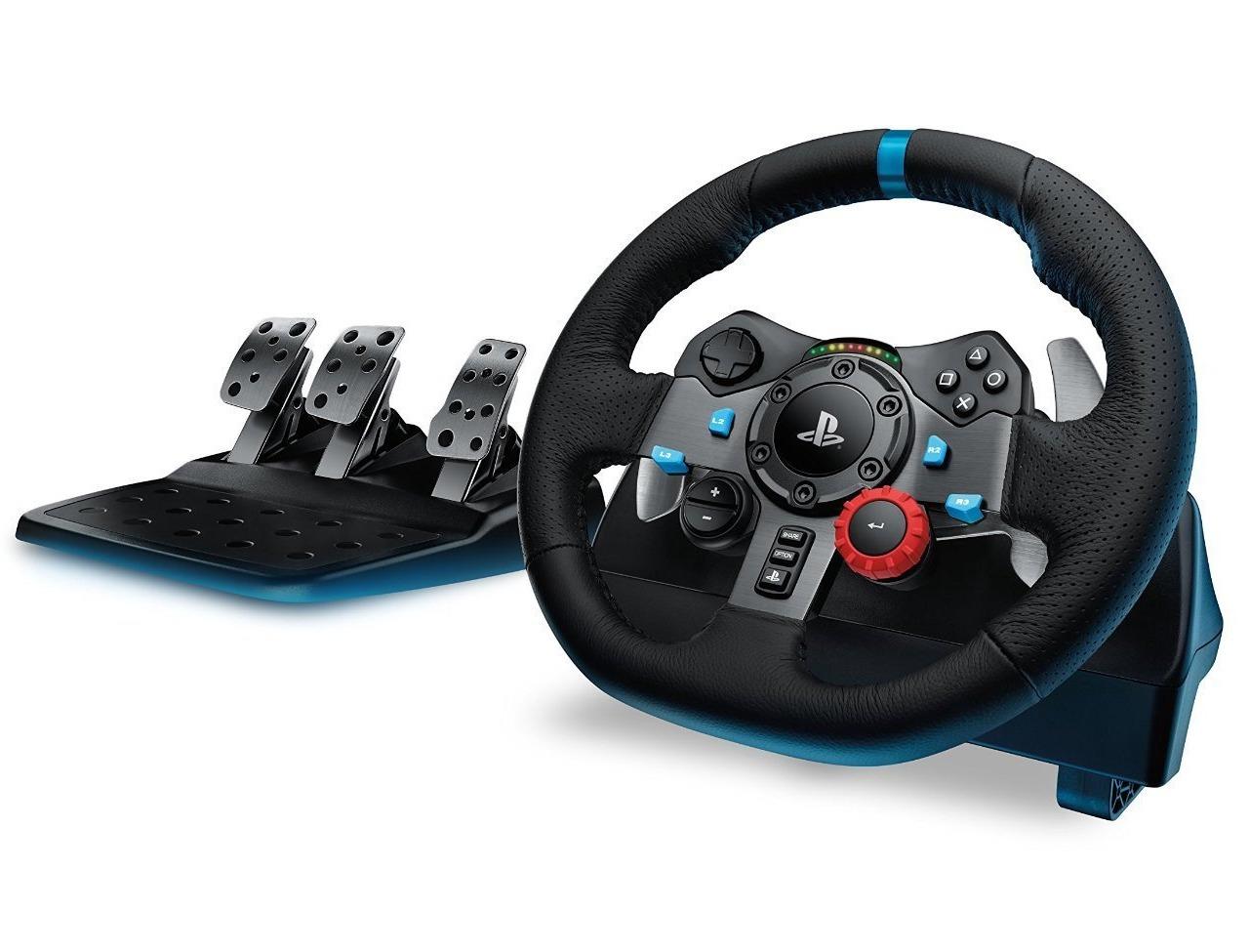 [amazon.de] Logitech G29 Driving Force Lenkrad - PS4 / PC (mit Pedalen)