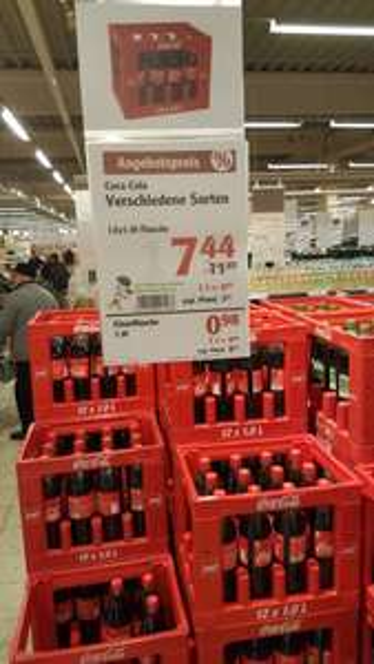 [Lokal] Globus Hermsdorf evtl alle Globus Filialen. Cola Fanta Sprite mit neuem Bestpreis?!