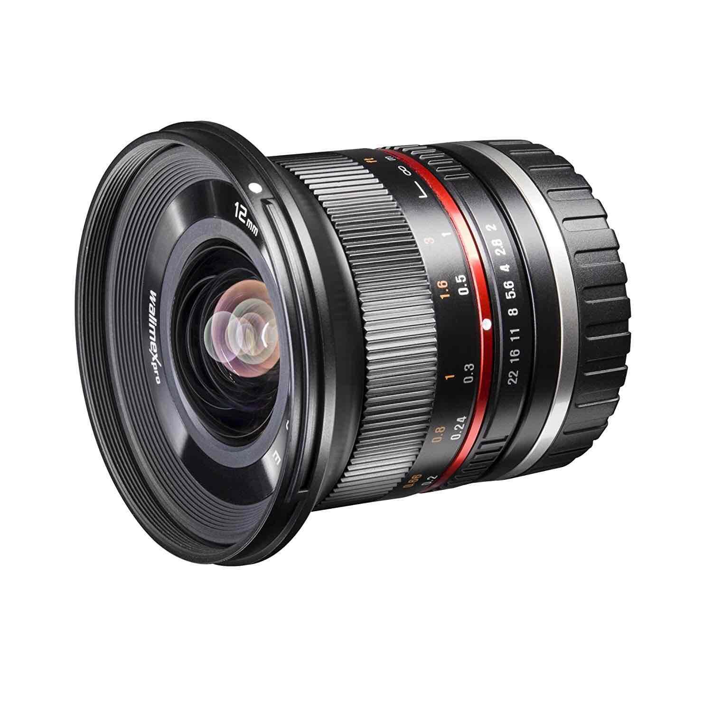 Walimex Pro 12 mm 1:2,0 CSC-Weitwinkelobjektiv