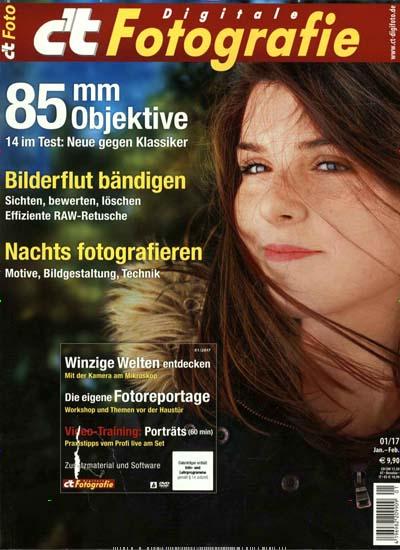 2 Ausgaben c't Digitale Fotografie (Print + Digital) + Zugang zum ges. Artikelarchiv mit 10€ Amazon-Gutschein
