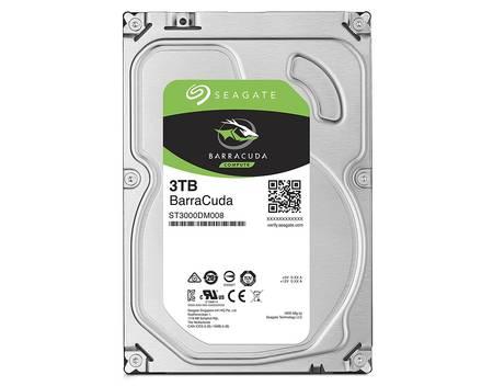 "Seagate Barracuda ST3000DM008, Festplatte, 3 TB, intern, 8,9 cm (3,5""), SATA 6Gb/s, 7200 rpm, Puffer: 64 MB, B-Ware @ AYN"