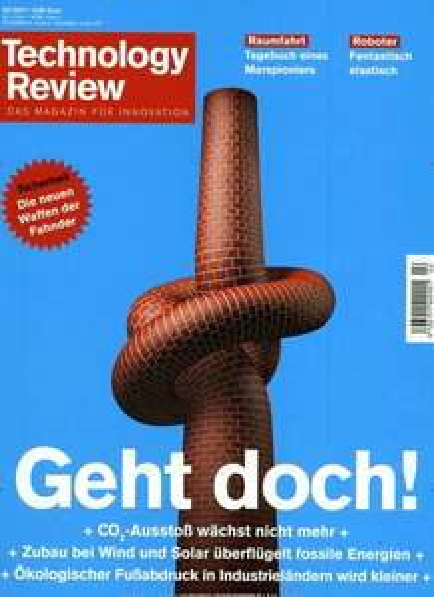 """2 Ausgaben Technologie Review (Print + Digital) + Zugang zum ges. Artikelarchiv + XTORM Powerbank 5.000 mAh """"FS101"""", schwarz (idealo: 22,89€) für 14€"""
