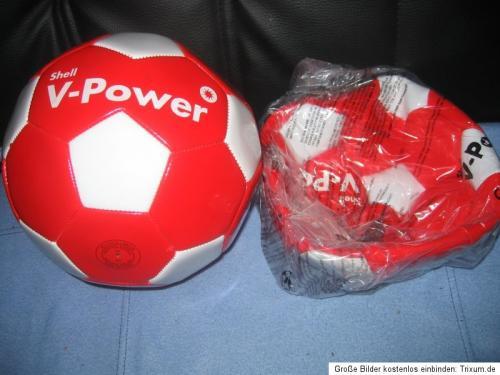 Shell - V-Power (Kunst)Leder-Fußball (Größe 5) für €2.- [@Shell Preetz]