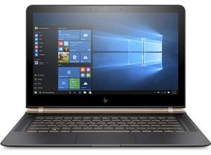 "HP Spectre 13"" 13-v130ng (Intel Core i7-7500U, 8GB RAM, 512GB SSD, Windows 10) für 1443,10€ im HP Education Store"