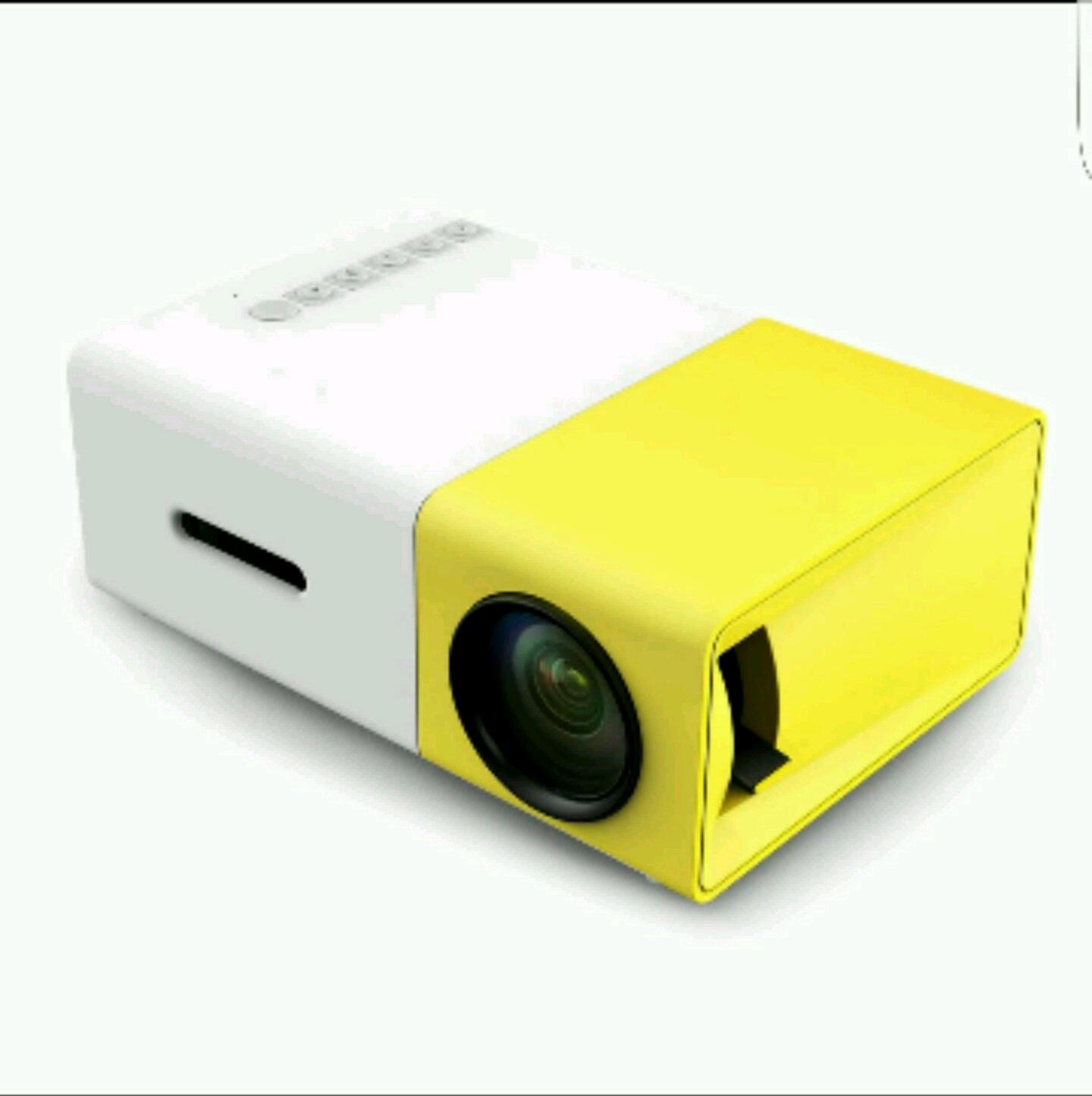 [Original] YG300 YG 300 GEFÜHRTER Beweglicher Projektor 500LM 3,5mm Audio 320x240 Pixel HDMI 33,45€