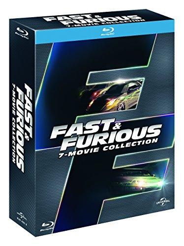 Fast & Furious 1-7 [Blu-ray] (Teil 6 nur mit O-Ton u. alle andere Teile mit Deutscher Tonspur) inkl. Vsk für 18,60 € > [amazon.it]