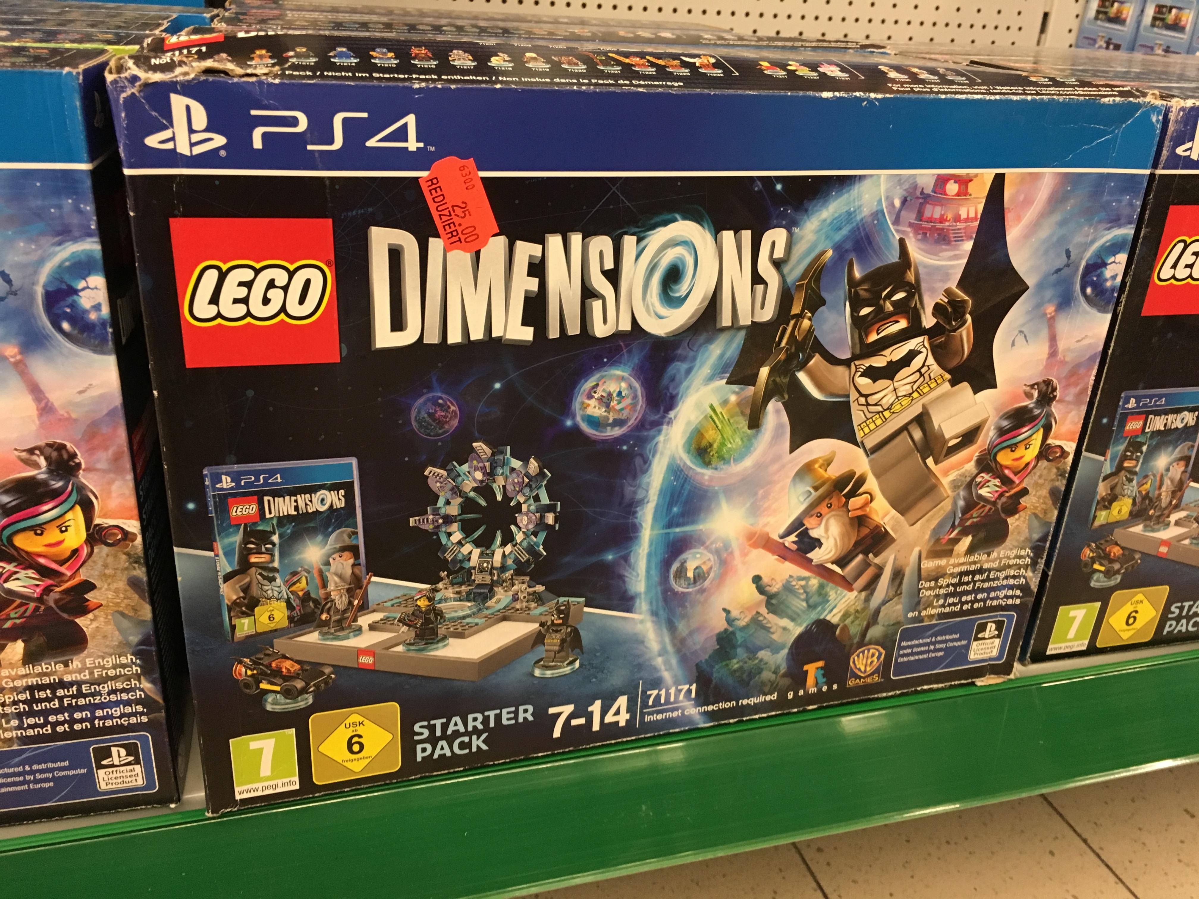 Lego Dimensions PS4 25€ LOKAL bei Marktkauf Bielefeld-Gadderbaum