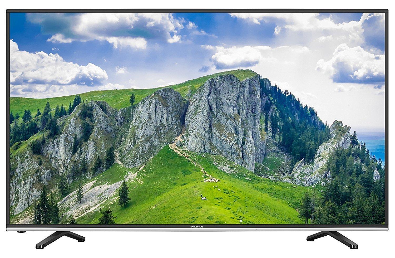 Hisense H55MEC3050 138 cm (55 Zoll) Fernseher (Ultra HD, Triple Tuner, Smart TV; HDR, PVR) für 529,90 € @ amazon