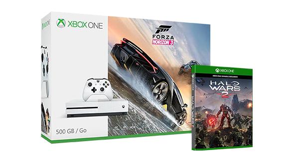 Xbox One S 500GB + Forza Horizon 3 + Battlefield 1 / Halo Wars 2 für 269,13€ [Microsoft Store UK] *** mit 1TB für ~305€