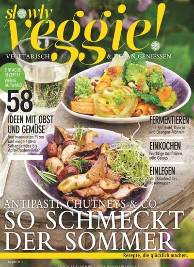 Slowly Veggie im Jahresabo für 34,65€ mit 15,00€ Prämie