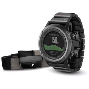 Garmin - Fenix 3 Saphir Performer Bundle