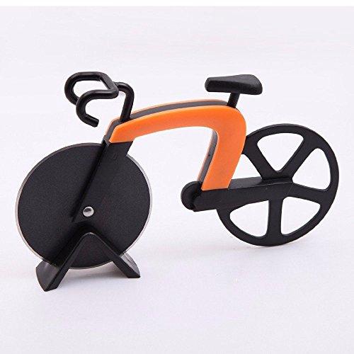 Pizzaschneider im Fahrrad-Design