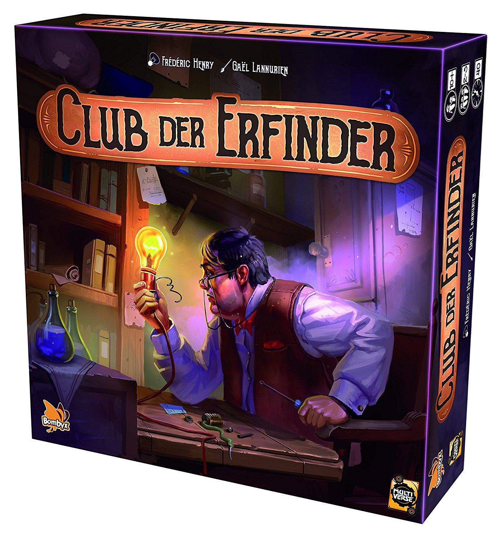 Der Club der Erfinder - Kartenspiel für 23,99€ (Thalia)
