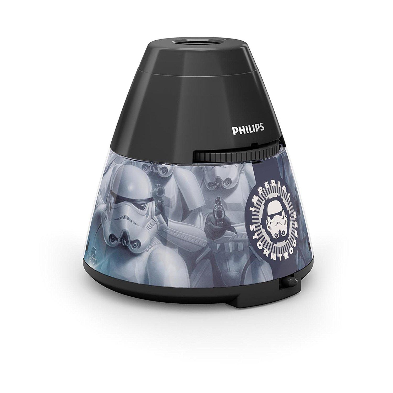 Philips Disney Star Wars LED Tischleuchte mit Projektor, schwarz für 10€ (AMAZON)