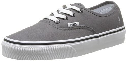 Vans Authentic Unisex-Erwachsene Sneakers grau [Amazon Prime] (abgelaufen)