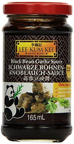 Lee Kum Kee Schwarze Bohnen Knoblauch Sauce, 6er Pack (6 x 0.165 l)