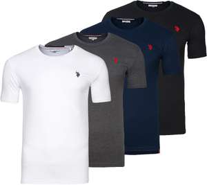 U.S. POLO ASSN. Round Neck Herren T-Shirts in verschied. Farben @outlet46