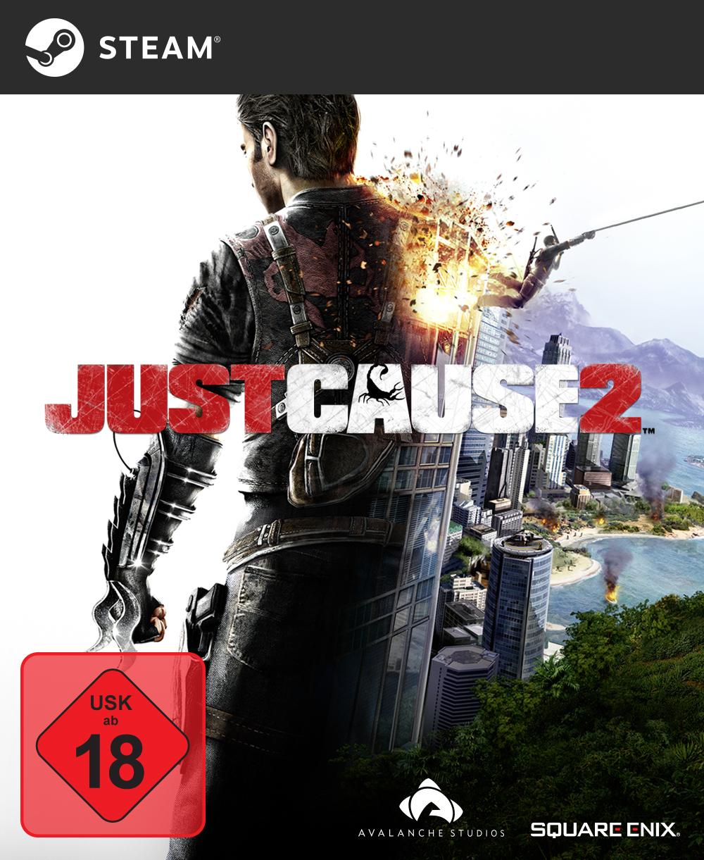 [Amazon + Steam] Just Cause 2 [PC Code - Steam, USK18]