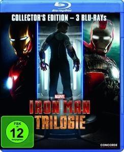 Iron Man Trilogie (Bluray) für 10,78€ [Thalia]