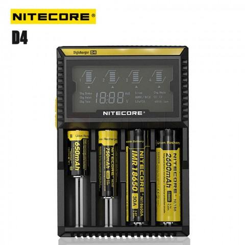 NiteCore Digicharger D4 Universalladegerät für 20,05€ [Zapals]