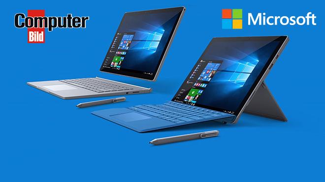20% beim Kauf eines Surface Pro 4 oder Surface Book im Microsoftstore