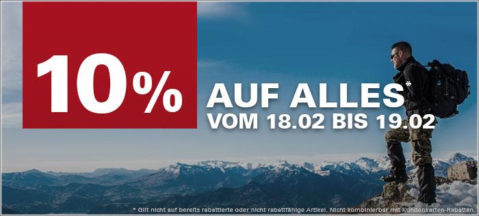 ASMC - 10% auf alles vom 18.02. bis 19.02.