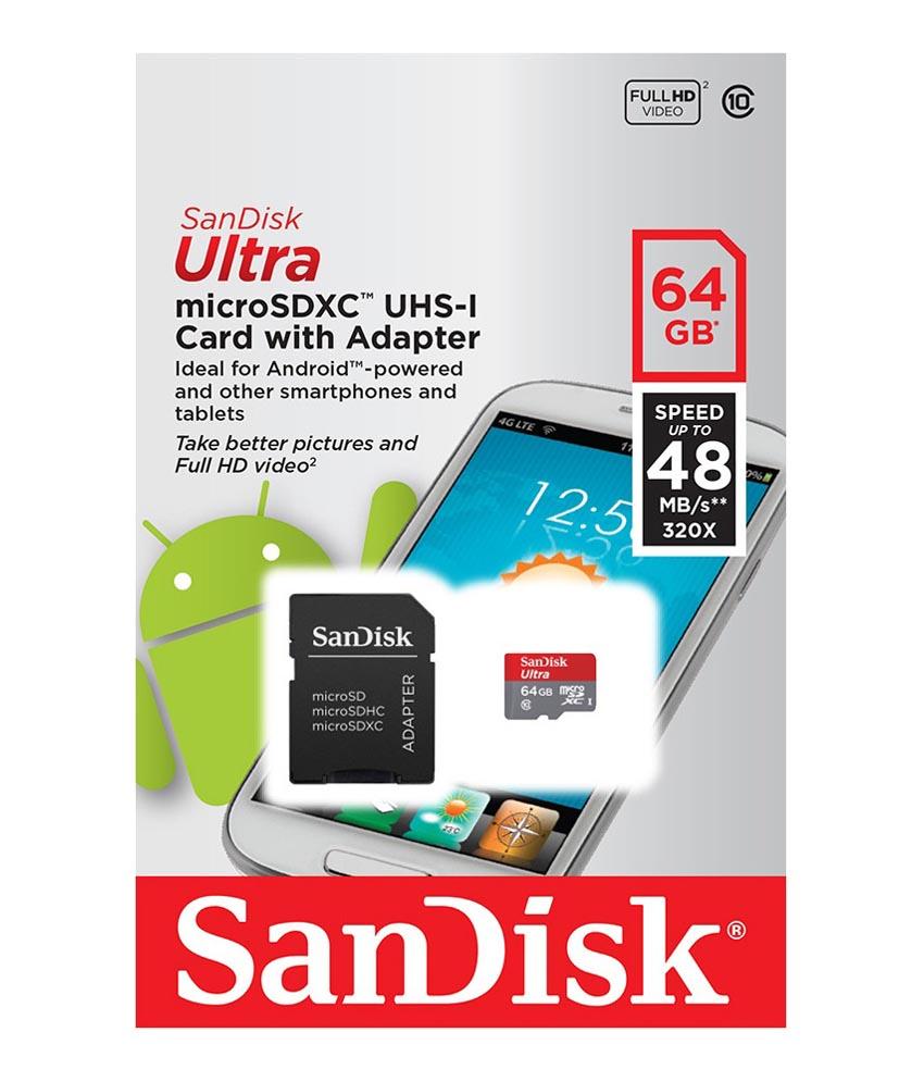 [Lokal? Penny Zum Löwen Braunschweig] microSDXC Sandisk Ultra 64GB