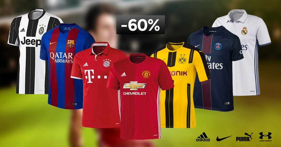 60% auf Fußball-Fanartikel bei geomix