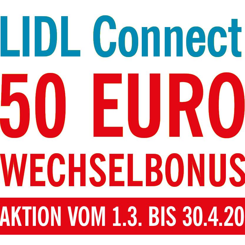 Lidl Connect spendiert 50€ statt 25€ ab 1.3. können wir dann doppelten Wechselbonus mitnehmen