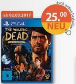 [Müller] The Walking Dead-Neuland (PS4) Erscheinungstermin 02.03.2017
