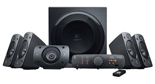 (Amazon Blitzangebot) Logitech Z906 3D-Stereo-Lautsprecher THX (Dolby 5.1-Surround-Sound und 500 Watt)