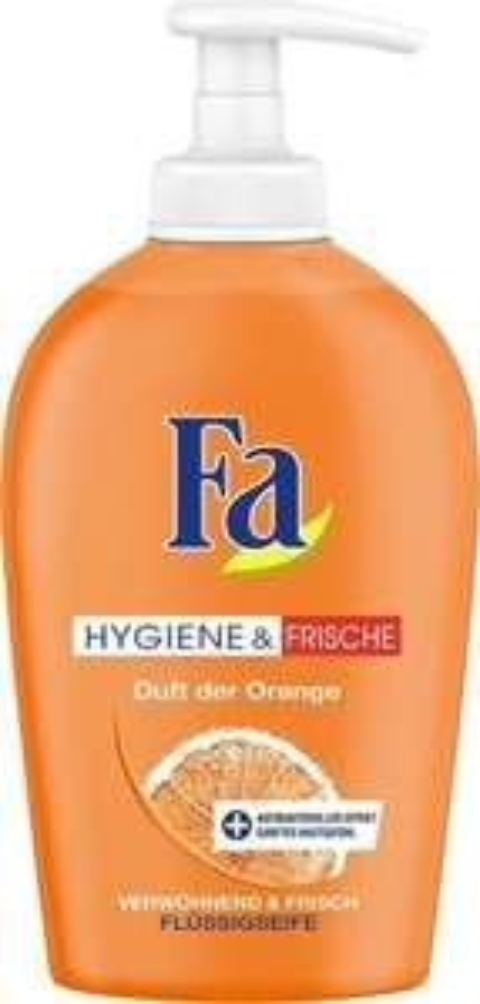 [Amazon Prime] 2 x Fa Flüssigseife Hygiene & Frische, Pumper, 250 ml, Als Spar-Abo nochmals günstiger möglich