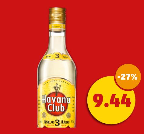 [Penny] Havana Club 3 Años 0.7 Liter (Framstag)