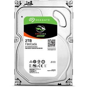 Seagate FireCuda 2 TB, SSHD, Festplatte, 3,5 Zoll, 7.200 U/min, 64MB