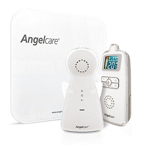 Angelcare Babyphone mit 2xSensormatte, Temperaturüberwachung und 250m Reichweite - AC403-D