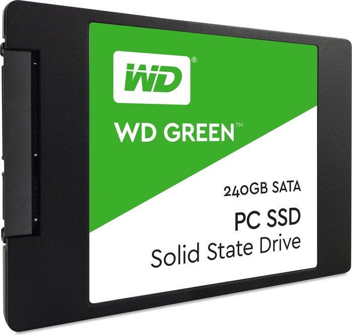 WD Green SSD mit 240GB für 69,45€ [Amazon.it]
